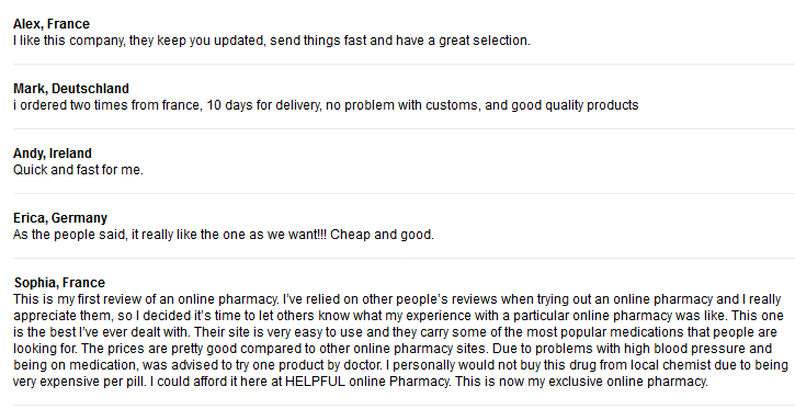 Online Pharmacy Reviews - Buy Cheap Prescription Drugs