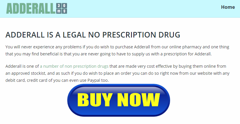 Purchase Adderall Online