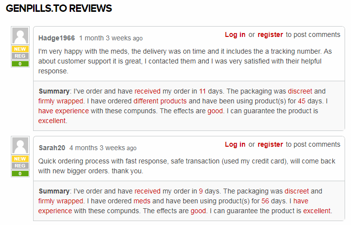 Positive Reviews for GenPills