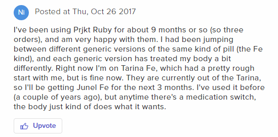 One Womans Experience with Pjkt Ruby