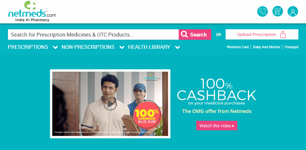 An Example of an Indian Online Pharmacy