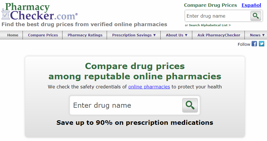 Compare Ratings and Prices to find Good Pharmacies