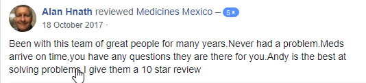 Mexican Pharmacy User Feedback