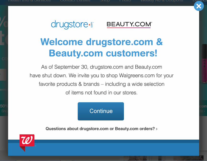The Notice to Drugstore