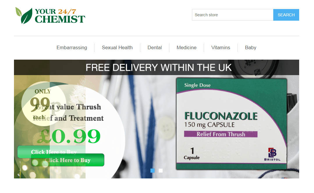 The Online Extension to a Booming UK Pharmacy