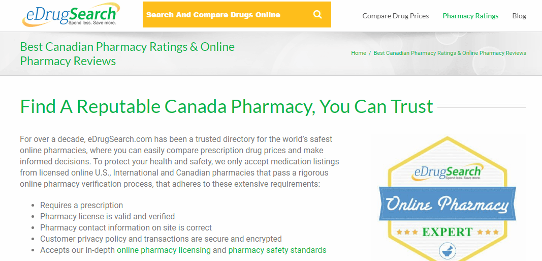 Search for the Best Pharmacies and Prices