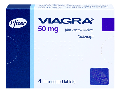 The brand Viagra manufactured by Pfizer