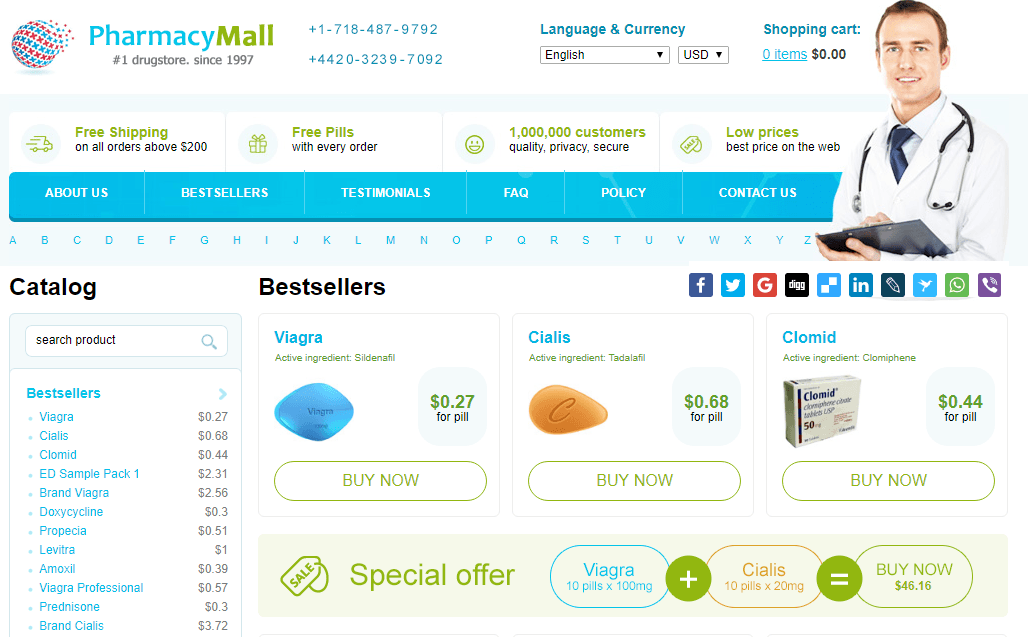 Pharmacymall Reviews